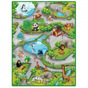 3DU Play Dierentuin Playmat (kijk naar het filmpje!)