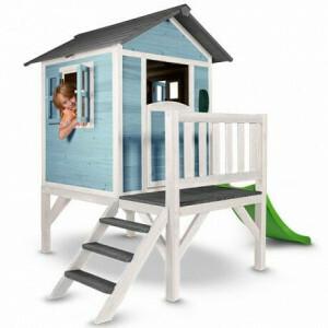 Lodge Speelhuis XL (blauw/wit) - Sunny (C050.002.01)