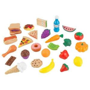 Luxe 30-delige Tasty Treats (Namaak Etenswaren) - Kidkraft (63509)