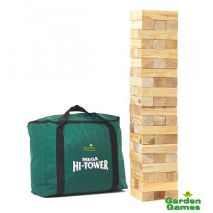 Mega Hi-Tower in een tas (Jenga)