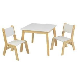 Moderne set met tafel en 2 stoelen - Kidkraft (27025)