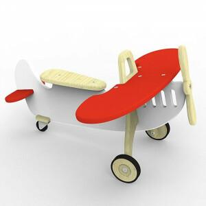 Vliegtuig Rider Marian Rood