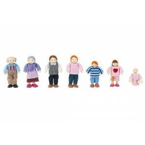 Poppenfamilie (7-delig) - Kidkraft (65202)