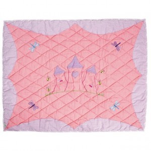 Prinsessen speeltent,  Princess Castle Floor Quilt Large (Win Green)