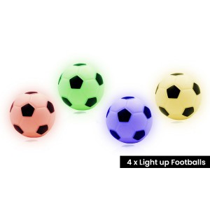 Mood lamp Voetbal (set van 4)