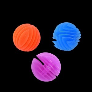 3 x Sensory Flexi Ball – Tactile UV Toy