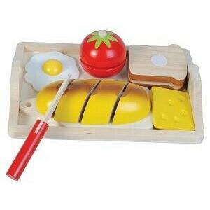 Ontbijt Snijset incl dienblad - New Classic Toys (0582)