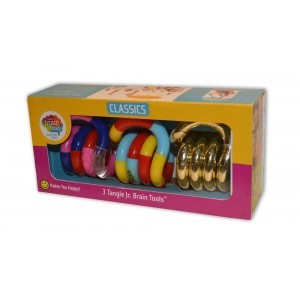 Tangle Sensory Fidget Toys Trio Pack Klassiek, Structuur, Metallics
