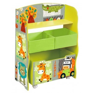 Kid Safari Opbergbox met bakken (TF4821)