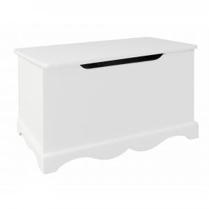 Witte houten speelgoedkist (TF5302)