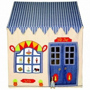 Toy Shop Playhouse (klein) + Floor Quilt - Win Green (11101310)