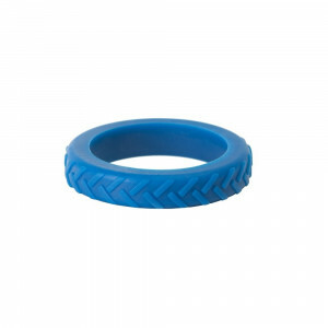 Blue Tread Bangle Sensorisch Kauwspeeltje
