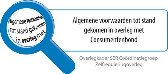 Algemene Voorwaarden tot stand gekomen in overleg met Consumentenbod